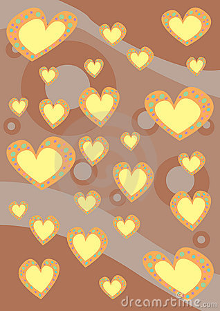 текстура сердец предпосылки