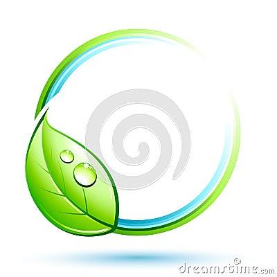 按钮绿色叶子