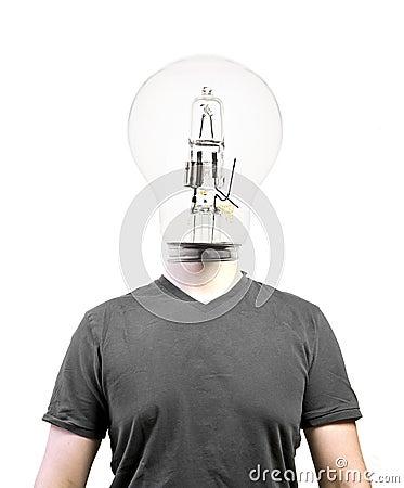 电灯泡题头