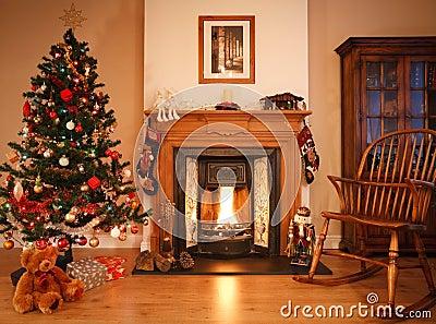 圣诞节客厅