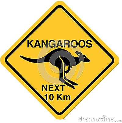 знак кенгуруа