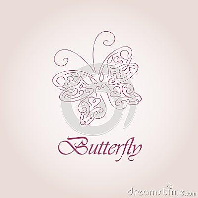 蝴蝶符号 库存 照片 16115433
