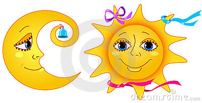солнце луны