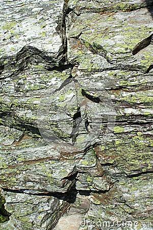 πέτρα βρύου γρανίτη χοντρών κ