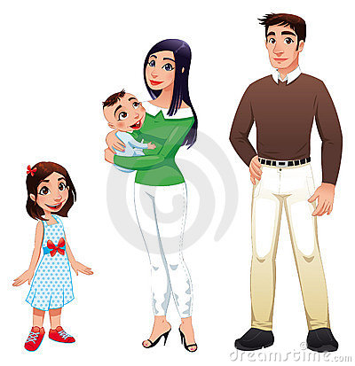мать человека отца семьи детей