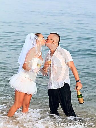 венчание поцелуя