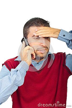 混淆人移动电话联系