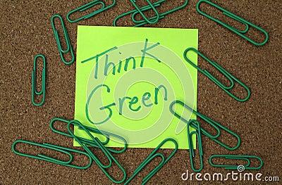 зеленый цвет думает