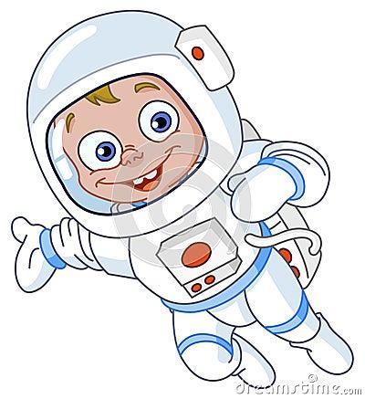 宇航员年轻人