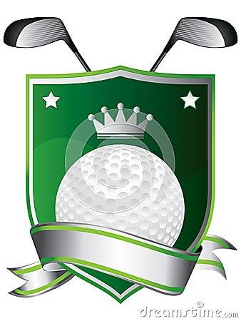 象征高尔夫球