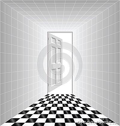 概念性走廊