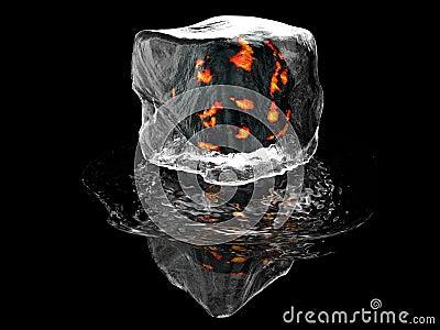 πάγος κύβων