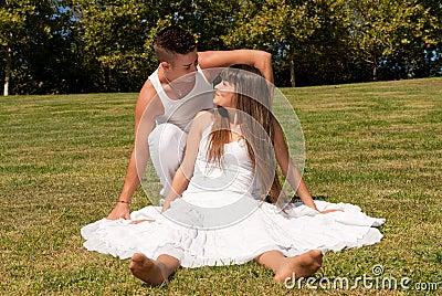 夫妇草爱关系空白年轻人