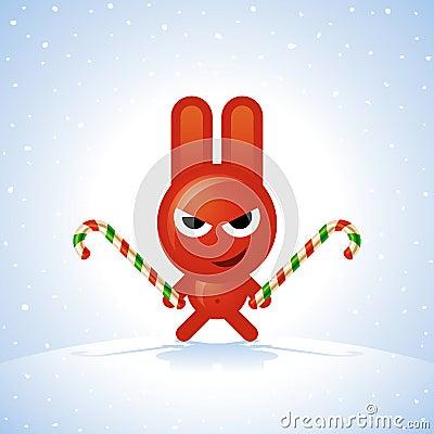 кролик рождества