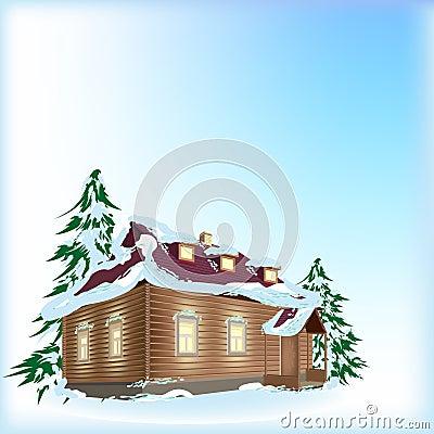乡间别墅雪