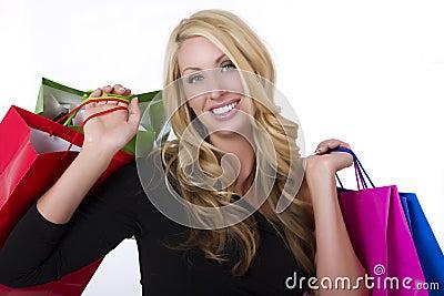 女性顾客年轻人