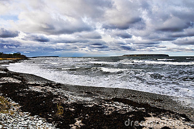 штормовая погода моря