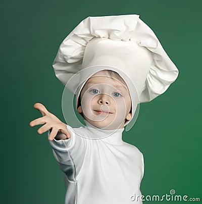 εύθυμος μάγειρας