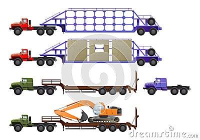 拖拉机卡车