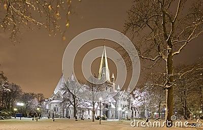 大教堂冬天