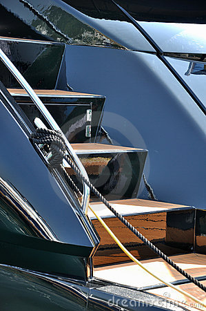 яхта лестницы