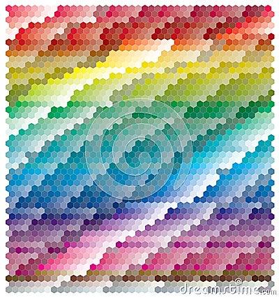 абстрактное знамя цветастое