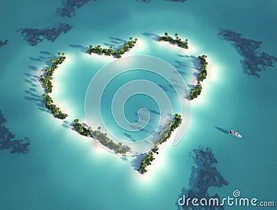 被塑造的重点海岛