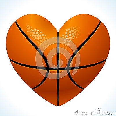 球篮球重点形状