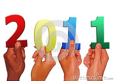 κράτημα του νέου έτους
