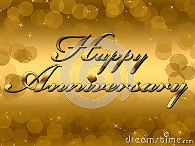 Счастливая годовщина