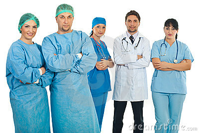 ομάδες χειρούργων γιατρώ&