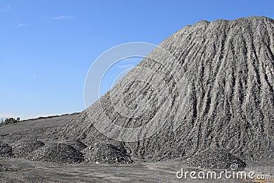 ανάχωμα αμμοχάλικου
