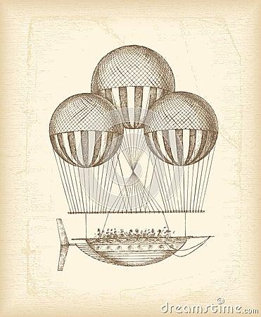 τρύγος σκίτσων μπαλονιών
