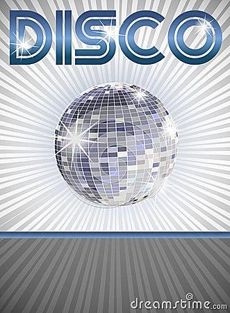 плакат диско