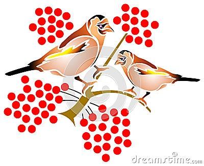 καρποί πουλιών