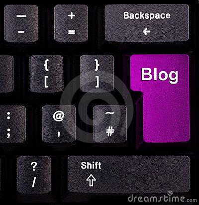 клавиатура блога