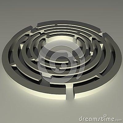 круговой лабиринт