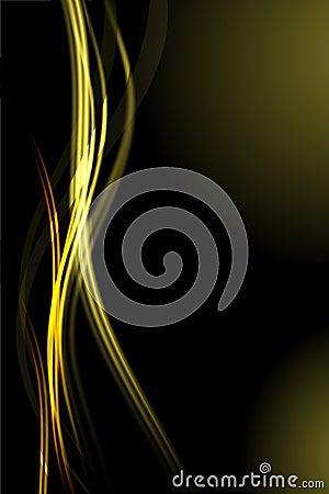 抽象背景发光的通知