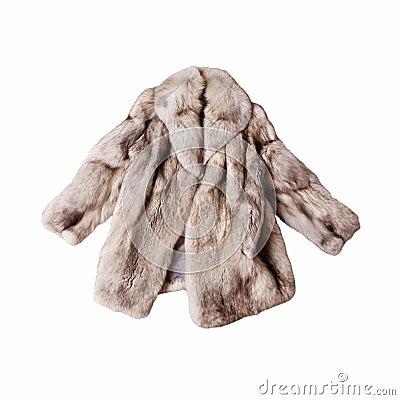 шерсть лисицы пальто