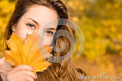 ομορφιά φθινοπώρου φυλλ