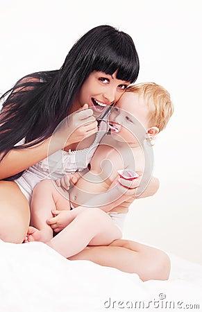 μητέρα μωρών