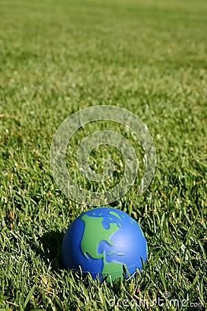 地球地球显示美国的草绿色