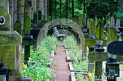 νεκροταφείο ήρεμο