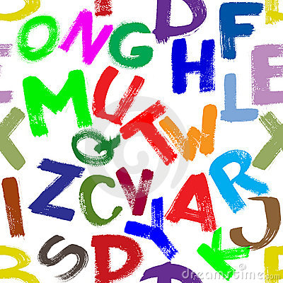 无缝的字母表