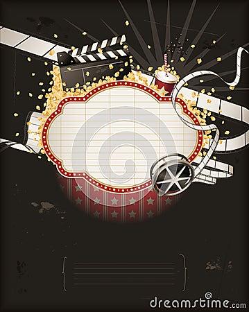 大门罩电影反对剧院主题