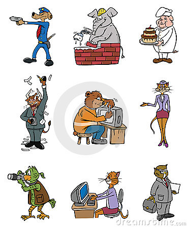 животные профессии