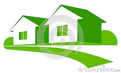 зеленые дома