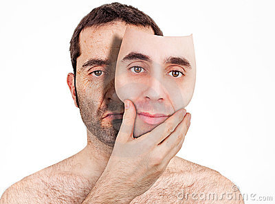 πίσω από τη μάσκα