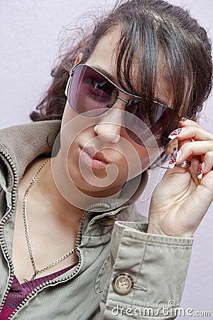 μοντέλο γυαλιών