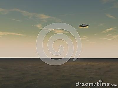 飞行未认出对象的飞碟